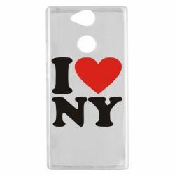 Чехол для Sony Xperia XA2 Люблю Нью Йорк - FatLine
