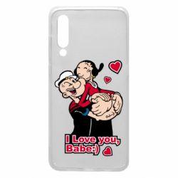 Чехол для Xiaomi Mi9 Люблю тебя, детка