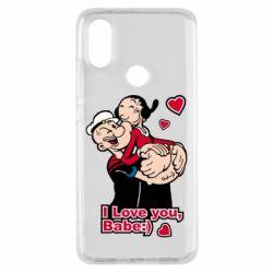 Чехол для Xiaomi Mi A2 Люблю тебя, детка