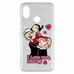 Чехол для Xiaomi Mi8 Люблю тебя, детка