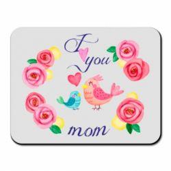Килимок для миші Люблю тебе, мамо!