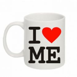 Кружка 320ml I love ME - FatLine