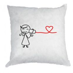 Подушка Любовное послание 2