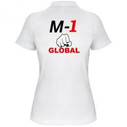 Женская футболка поло M-1 Global - FatLine