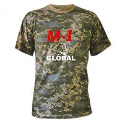 Камуфляжная футболка M-1 Global - FatLine