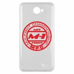 Чехол для Huawei Y7 2017 M-1 Logo - FatLine