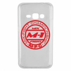 Чехол для Samsung J1 2016 M-1 Logo - FatLine