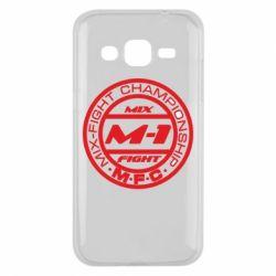 Чехол для Samsung J2 2015 M-1 Logo - FatLine