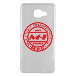 Чехол для Samsung A7 2016 M-1 Logo - FatLine