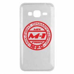 Чехол для Samsung J3 2016 M-1 Logo - FatLine