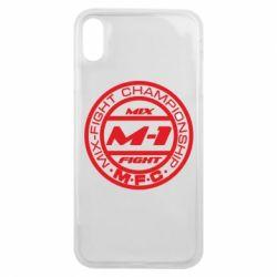 Чехол для iPhone Xs Max M-1 Logo - FatLine