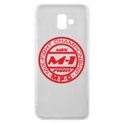 Чехол для Samsung J6 Plus 2018 M-1 Logo - FatLine