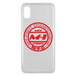 Чехол для Xiaomi Mi8 Pro M-1 Logo - FatLine