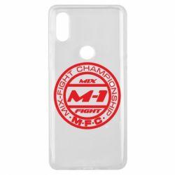 Чехол для Xiaomi Mi Mix 3 M-1 Logo - FatLine