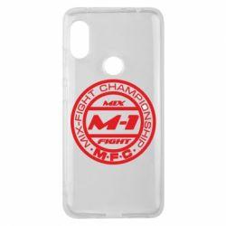 Чехол для Xiaomi Redmi Note 6 Pro M-1 Logo - FatLine