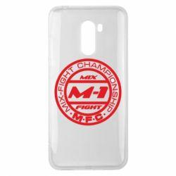 Чехол для Xiaomi Pocophone F1 M-1 Logo - FatLine