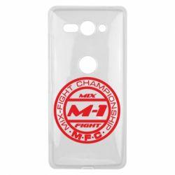 Чехол для Sony Xperia XZ2 Compact M-1 Logo - FatLine