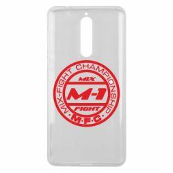 Чехол для Nokia 8 M-1 Logo - FatLine
