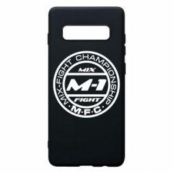 Чехол для Samsung S10+ M-1 Logo