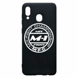 Чохол для Samsung A20 M-1 Logo
