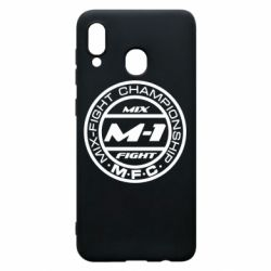 Чехол для Samsung A20 M-1 Logo