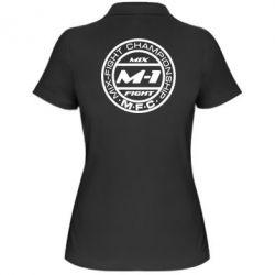Женская футболка поло M-1 Logo - FatLine