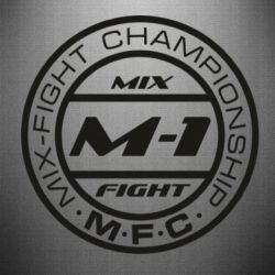 Наклейка M-1 Logo - FatLine