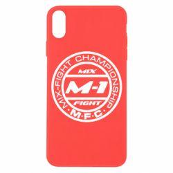 Чехол для iPhone X M-1 Logo - FatLine
