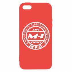 Чехол для iPhone5/5S/SE M-1 Logo - FatLine