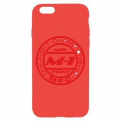Чехол для iPhone 6/6S M-1 Logo - FatLine