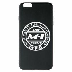 Чехол для iPhone 6 Plus/6S Plus M-1 Logo - FatLine
