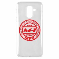 Чехол для Samsung A6+ 2018 M-1 Logo - FatLine