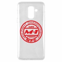 Чехол для Samsung A6+ 2018 M-1 Logo