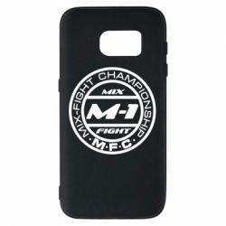 Чехол для Samsung S7 M-1 Logo - FatLine