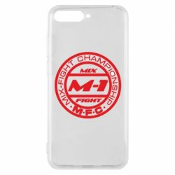 Чехол для Huawei Y6 2018 M-1 Logo - FatLine