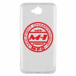 Чехол для Huawei Y6 Pro M-1 Logo - FatLine