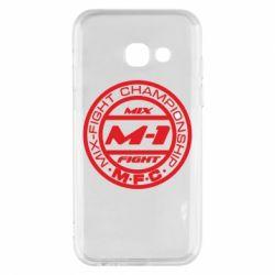 Чехол для Samsung A3 2017 M-1 Logo - FatLine
