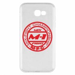 Чехол для Samsung A7 2017 M-1 Logo - FatLine