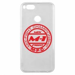 Чехол для Xiaomi Mi A1 M-1 Logo - FatLine