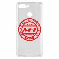 Чехол для Xiaomi Redmi 6 M-1 Logo - FatLine