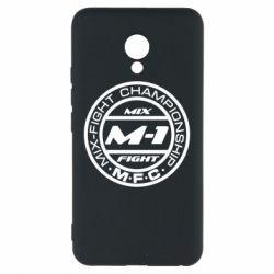 Чехол для Meizu M5 M-1 Logo - FatLine