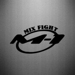 Наклейка M-1 Mix Fight - FatLine