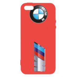 Купить BMW, Чехол для iPhone5/5S/SE M POWER 3D Logo, FatLine