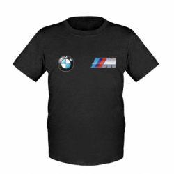 Детская футболка M POWER 3D Logo - FatLine