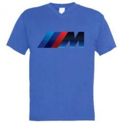 Чоловіча футболка з V-подібним вирізом M Power Art