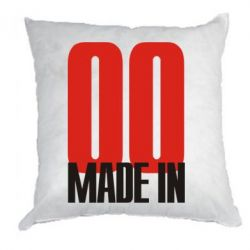 Подушка Made in 00 - FatLine