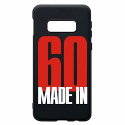 Чохол для Samsung S10e Made in 60