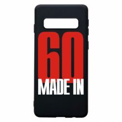 Чохол для Samsung S10 Made in 60