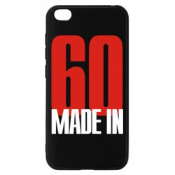 Чохол для Xiaomi Redmi Go Made in 60