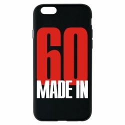Чохол для iPhone 6/6S Made in 60